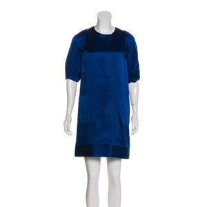 Doo.Ri  Blue Silk Dress